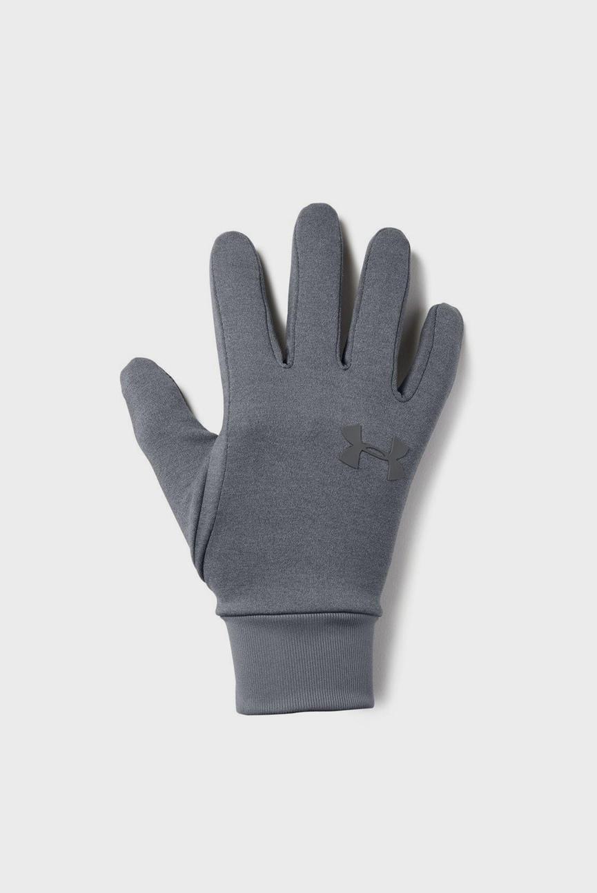 Мужские серые перчатки Men's Armour Liner 2.0