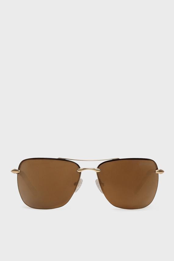 Золотистые солнцезащитные очки Cluu