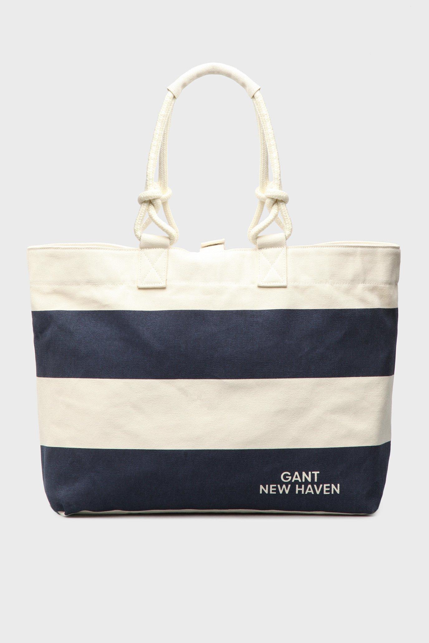 ba833ff18db4 Купить Женская темно-синяя пляжная сумка Gant Gant 498322 – Киев, Украина.  Цены в интернет магазине MD Fashion