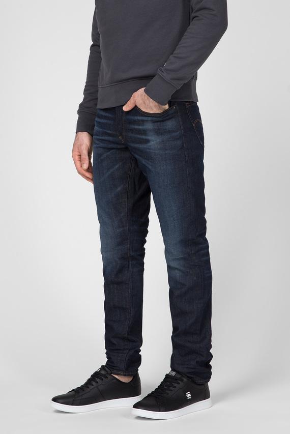 Мужские темно-синие джинсы 3301 Straight Tapered C