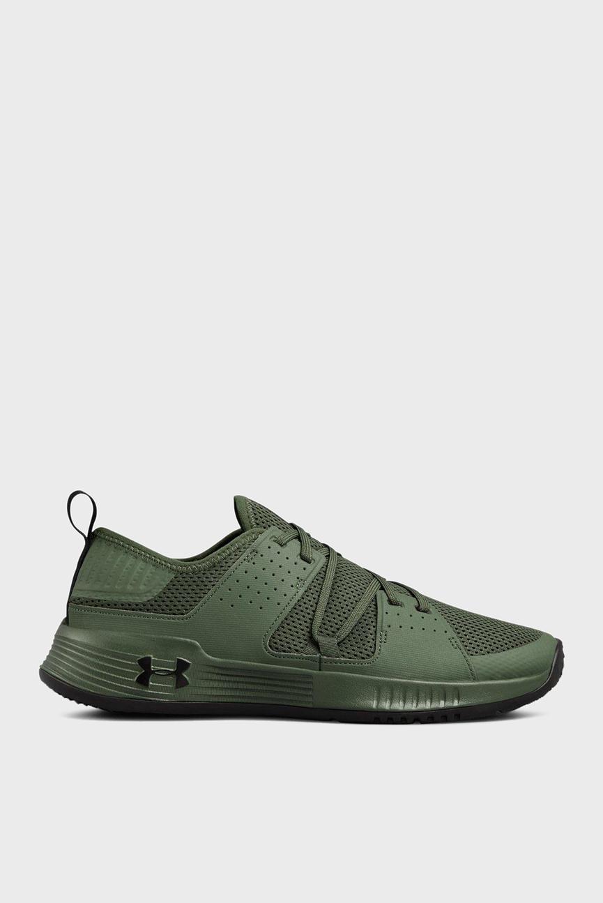 Мужские зеленые кроссовки UA Showstopper 2.0