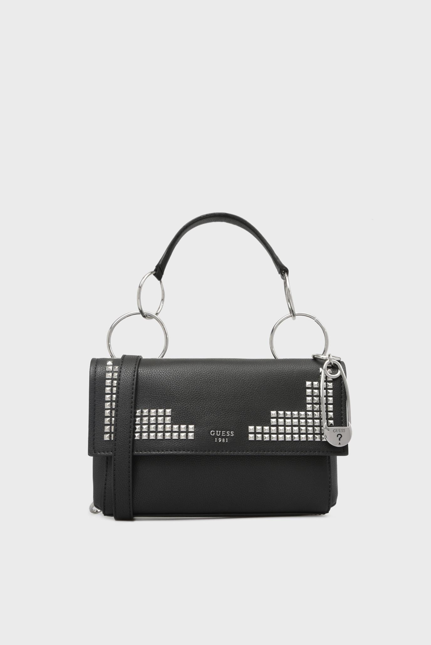 Купить Женская черная сумка на плечо Guess Guess HWVY7098210 – Киев ... e3464753664eb