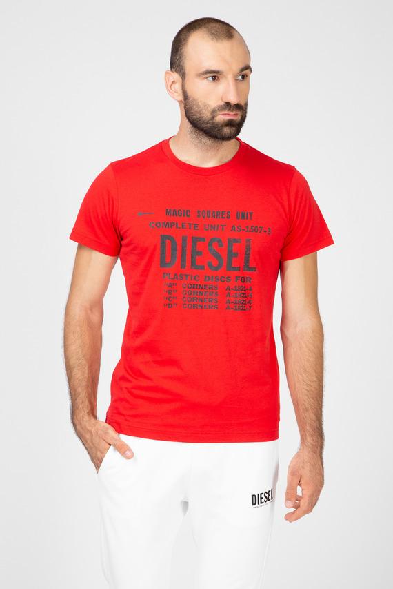 Мужская красная футболка с принтом T-DIEGO-B6 MAGLIETTA