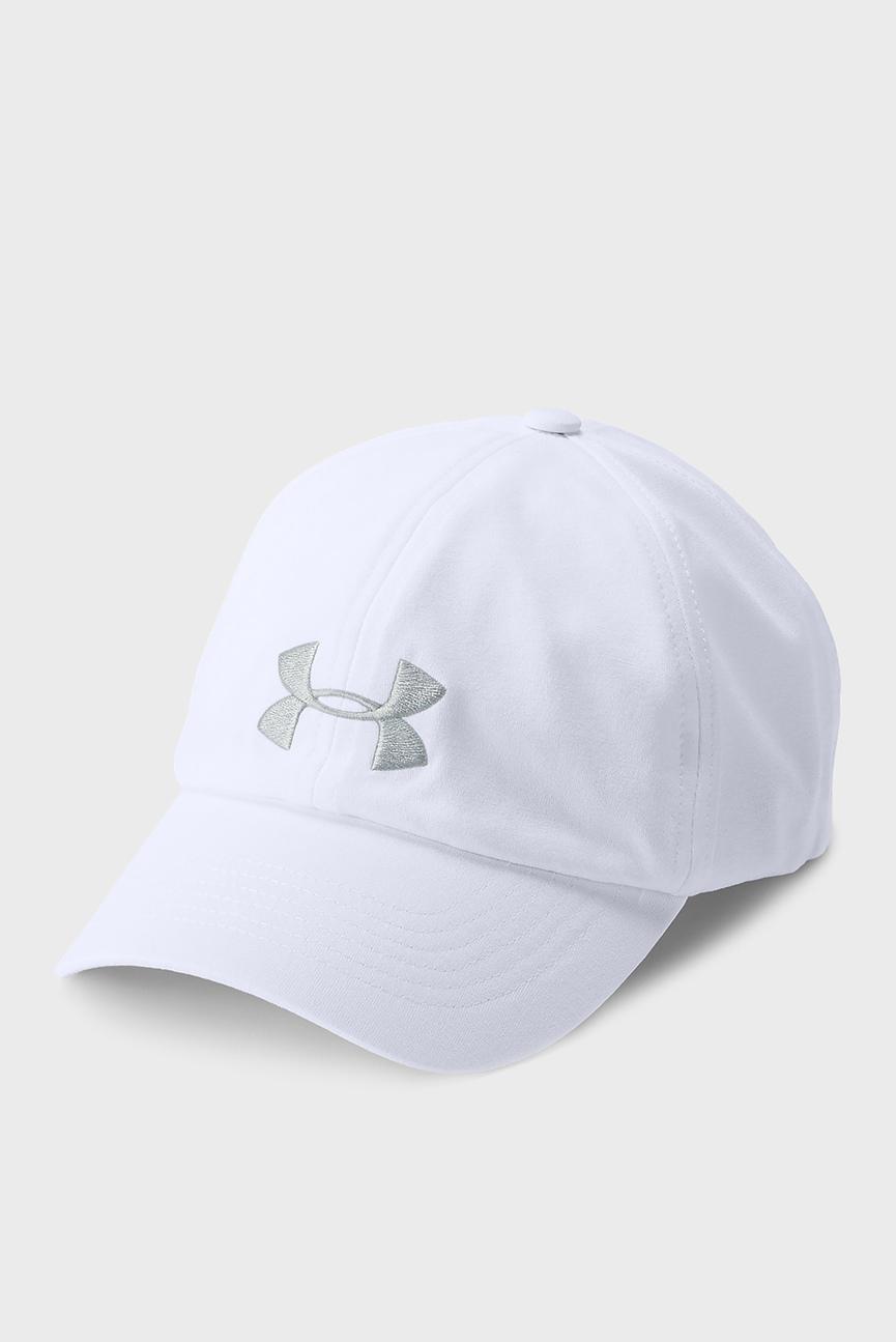 Женская белая кепка UA Threadborne Renegade Cap