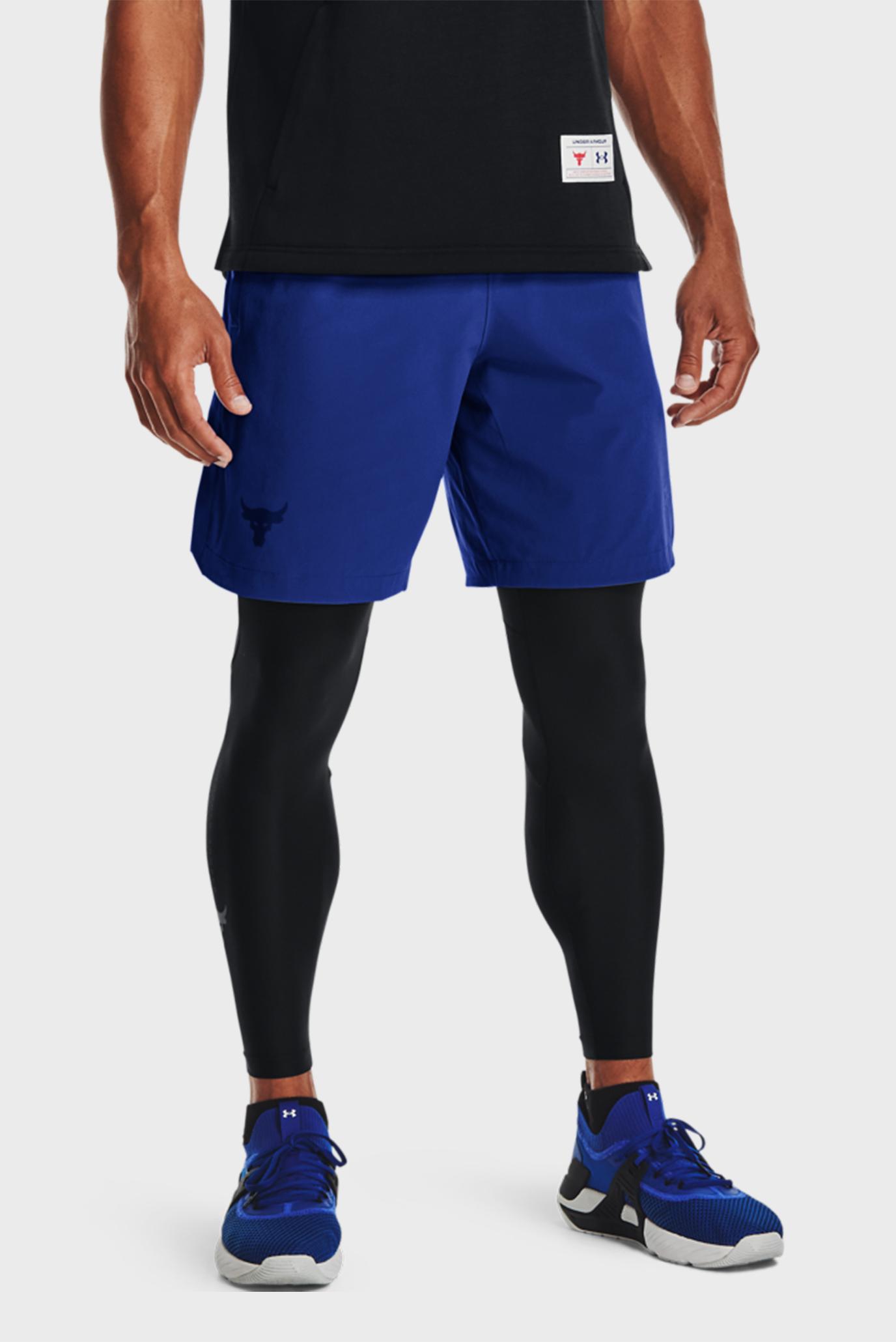 Мужские синие шорты UA Pjt Rck Snap Shorts 1