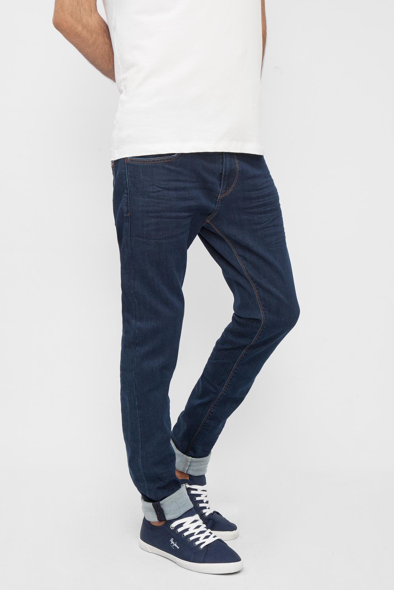 Купить Мужские синие джинсы Stanley Pepe Jeans Pepe Jeans PM201705BA02 – Киев, Украина. Цены в интернет магазине MD Fashion