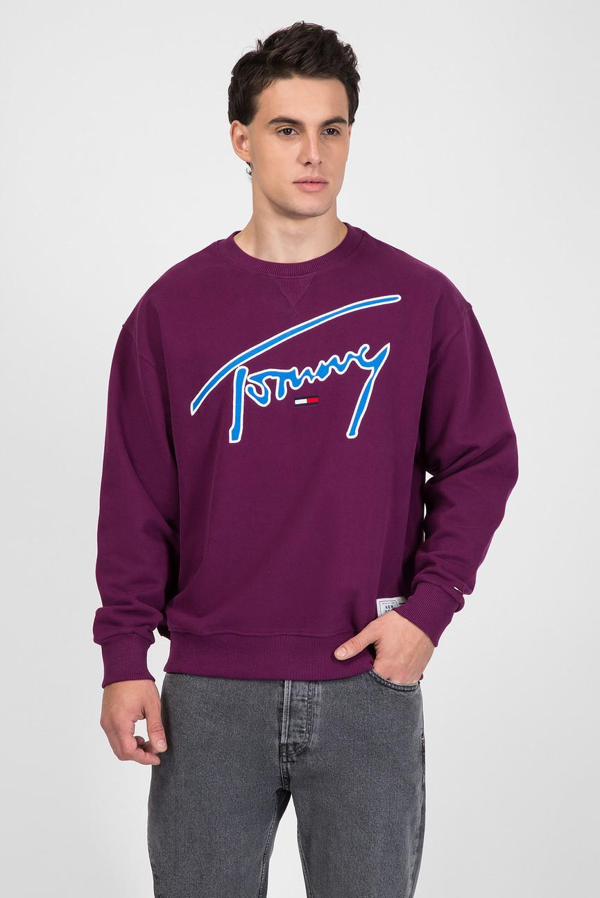 Мужской фиолетовый свитшот
