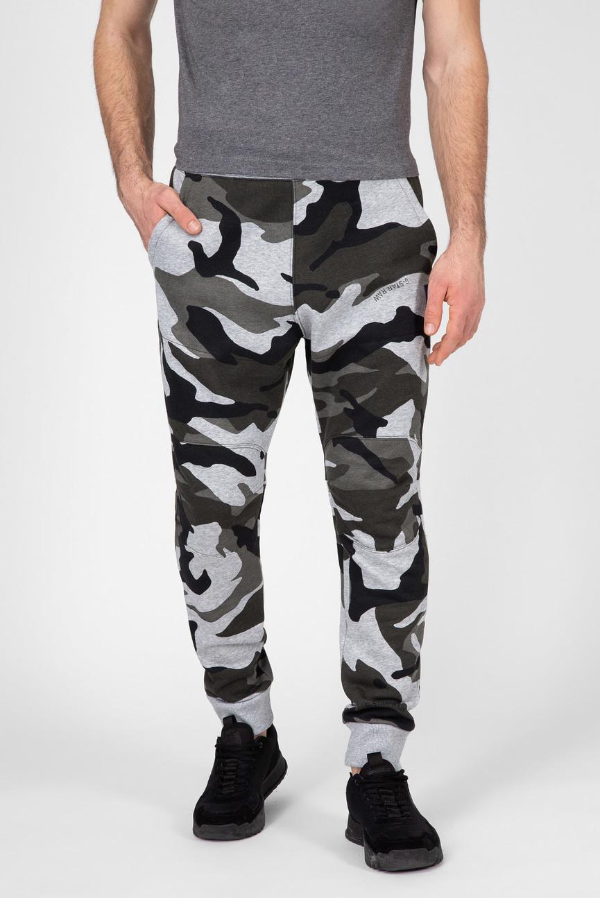 Мужские камуфляжные спортивные брюки