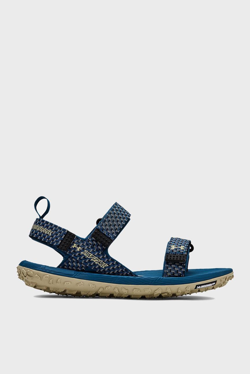 Мужские синие сандалии UA Fat Tire