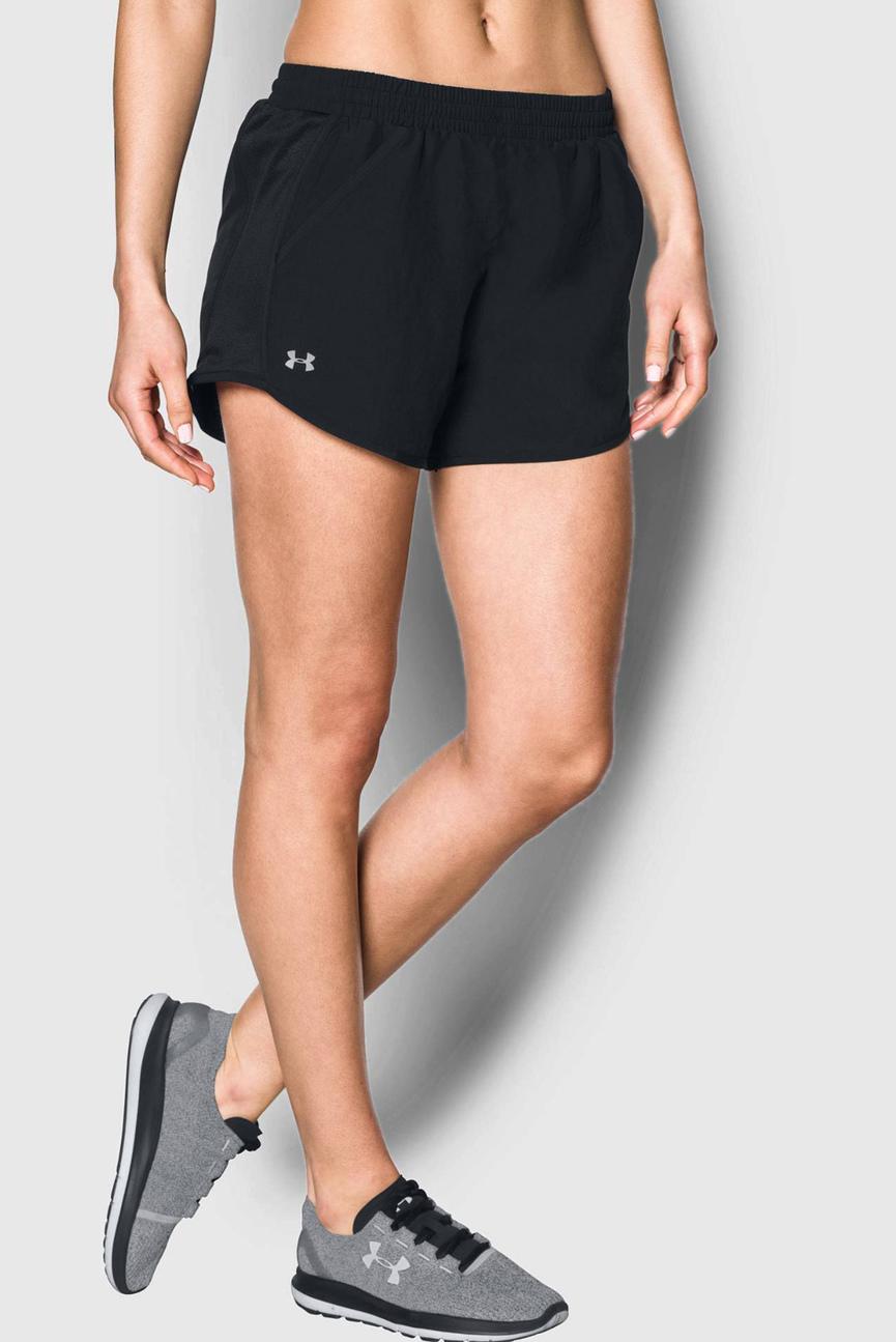 Женские черные шорты Fly By Short