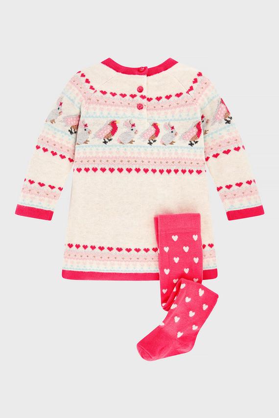 Набор детской одежды NB BABY FALLON (платье, колготки)