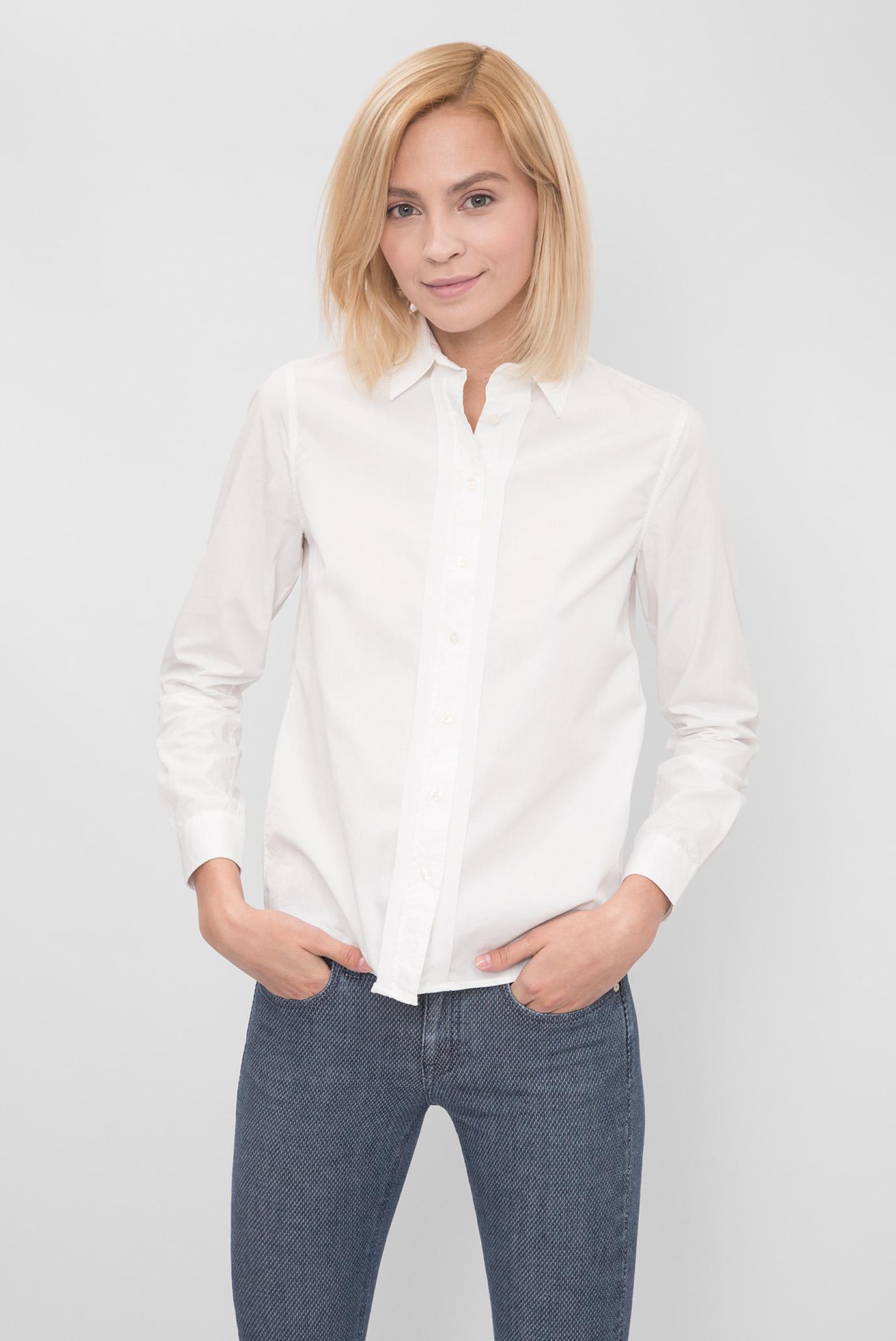 4f12d9a2cec Купить Женская белая рубашка Gant Gant 432572 – Киев