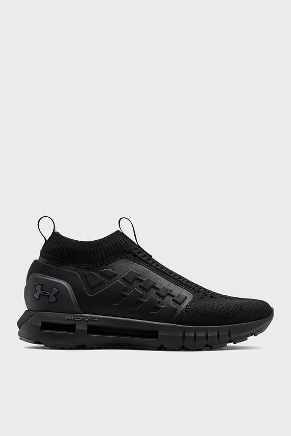 Черные кроссовки UA HOVR Phantom Slip
