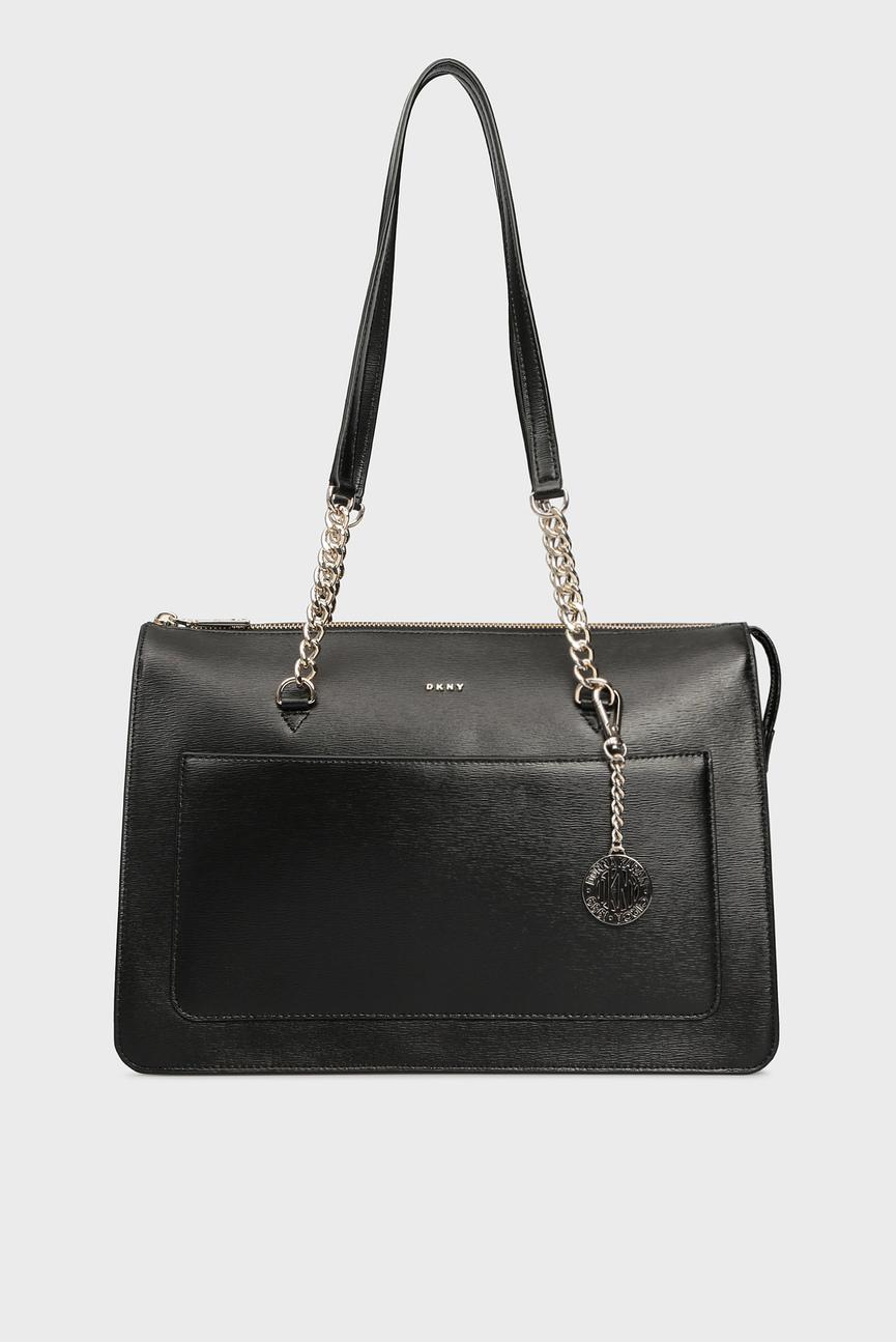 Женская черная сумка на плечо BRYANT