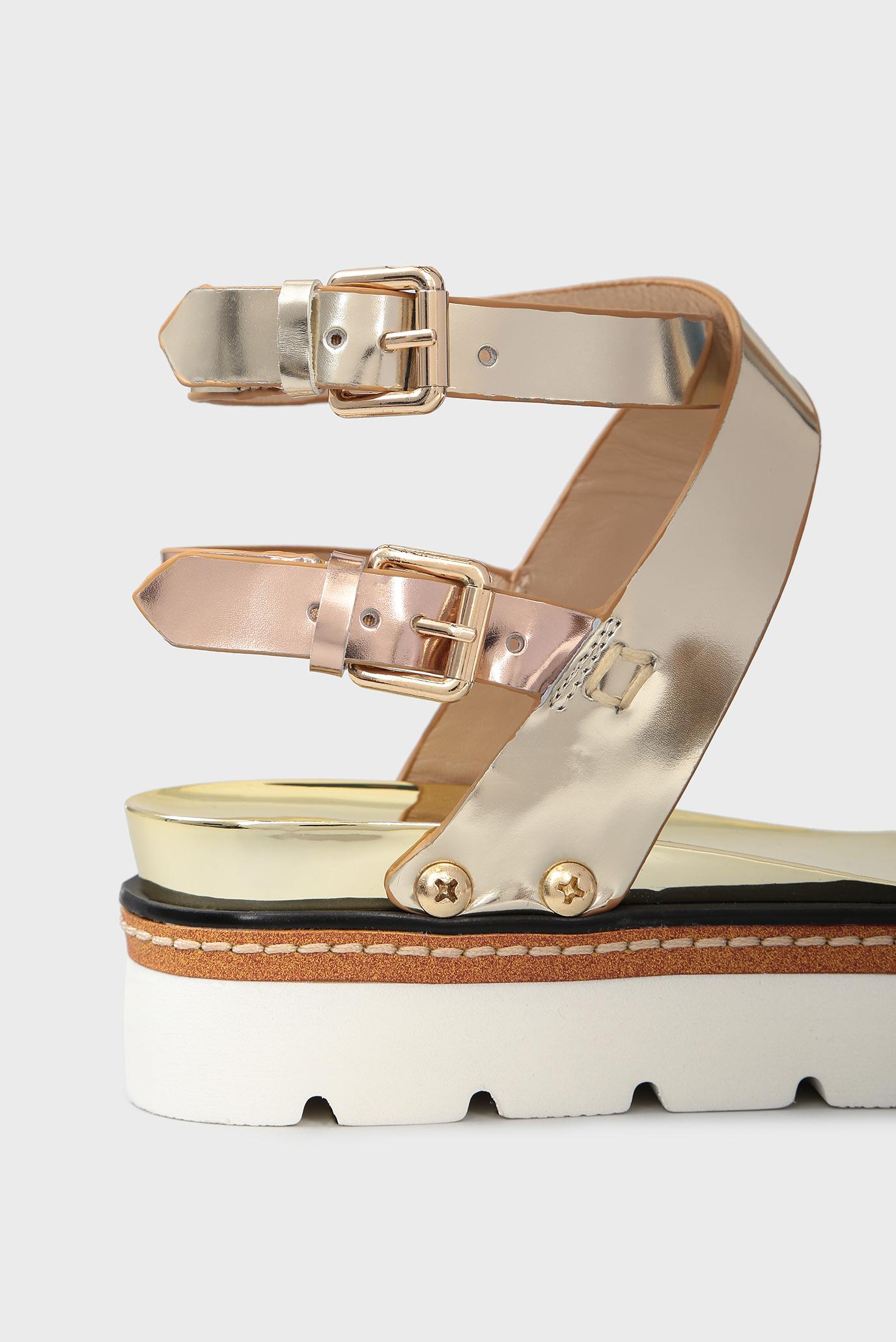 Купить Женские бронзовые кожаные сандалии Tosca Blu  Tosca Blu  SS1816S302 – Киев, Украина. Цены в интернет магазине MD Fashion