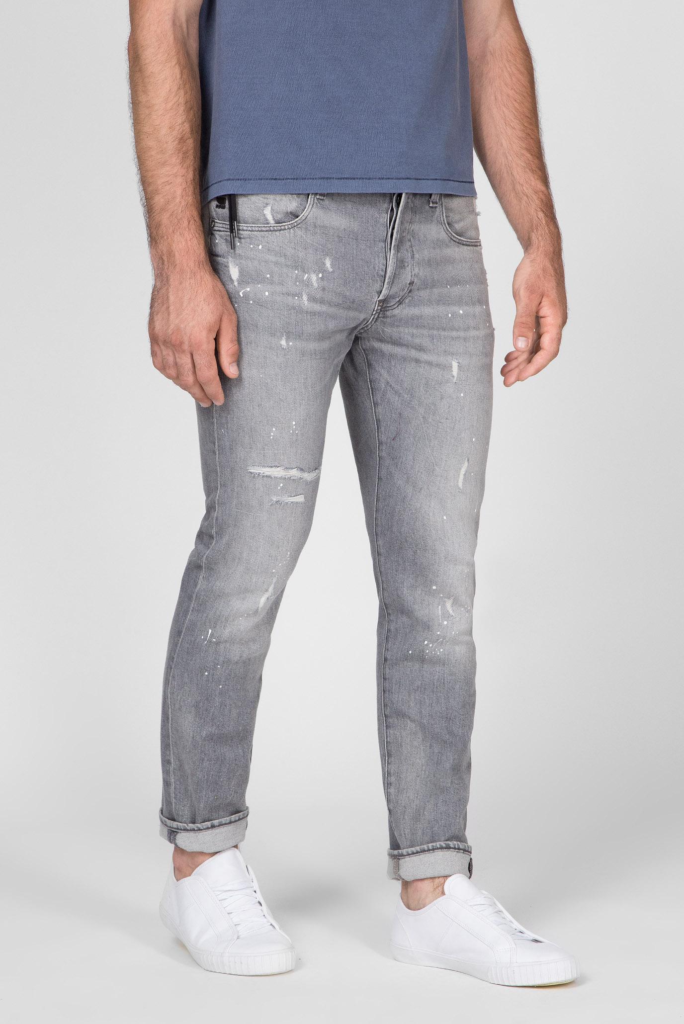 Купить Мужские серые джинсы 3301 Studs Slim G-Star RAW G-Star RAW D14339,9273 – Киев, Украина. Цены в интернет магазине MD Fashion