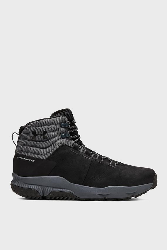Мужские черные ботинки UA Culver Mid WP-BLK