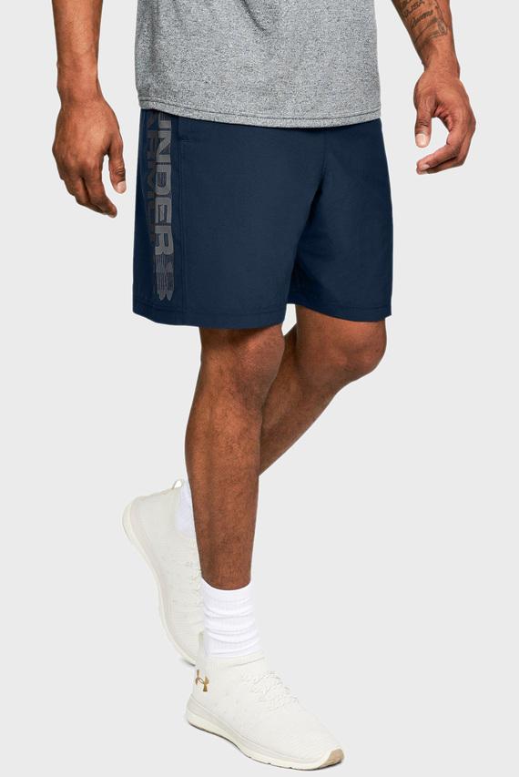 Мужские синие шорты Woven Graphic Wordmark Short