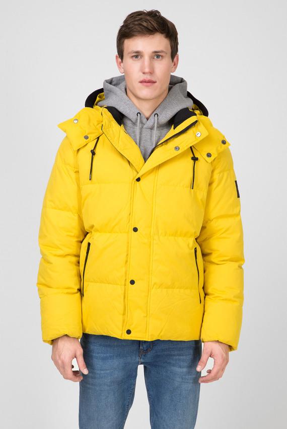 Мужская желтая куртка MID LENGTH