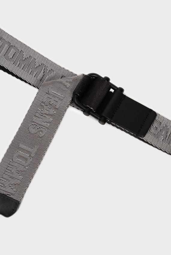 Мужской серый ремень TJM ROLLER REV WEBBING