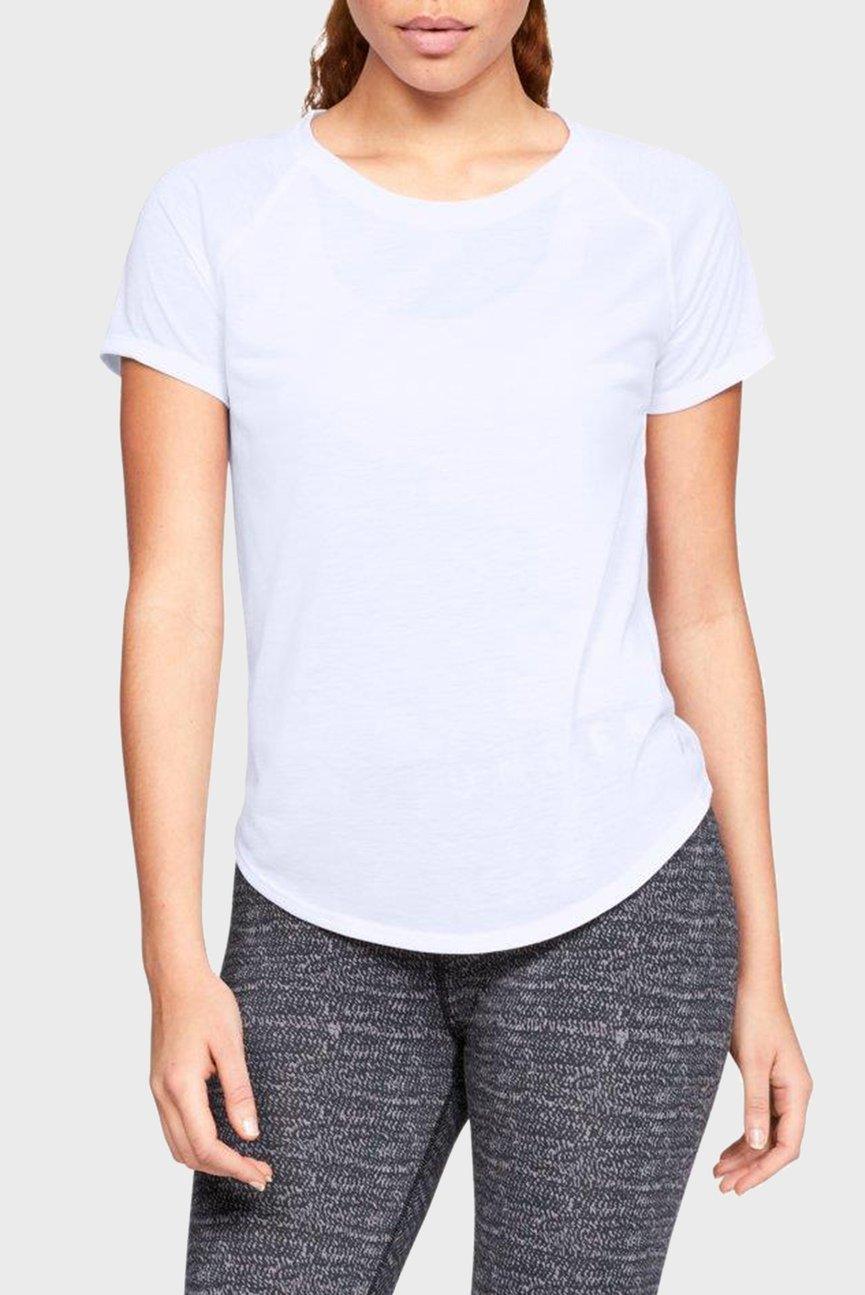 Женская белая футболка UA Whisperlight Strappy Back