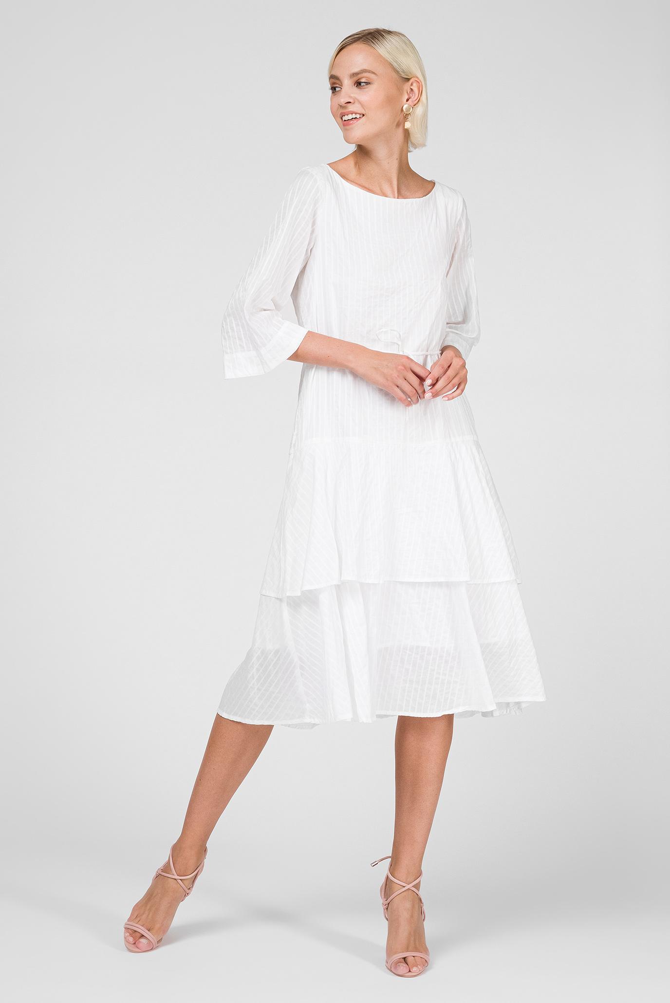 9aef07b82656 Купить Женское белое платье Gant Gant 4503046 – Киев, Украина. Цены ...
