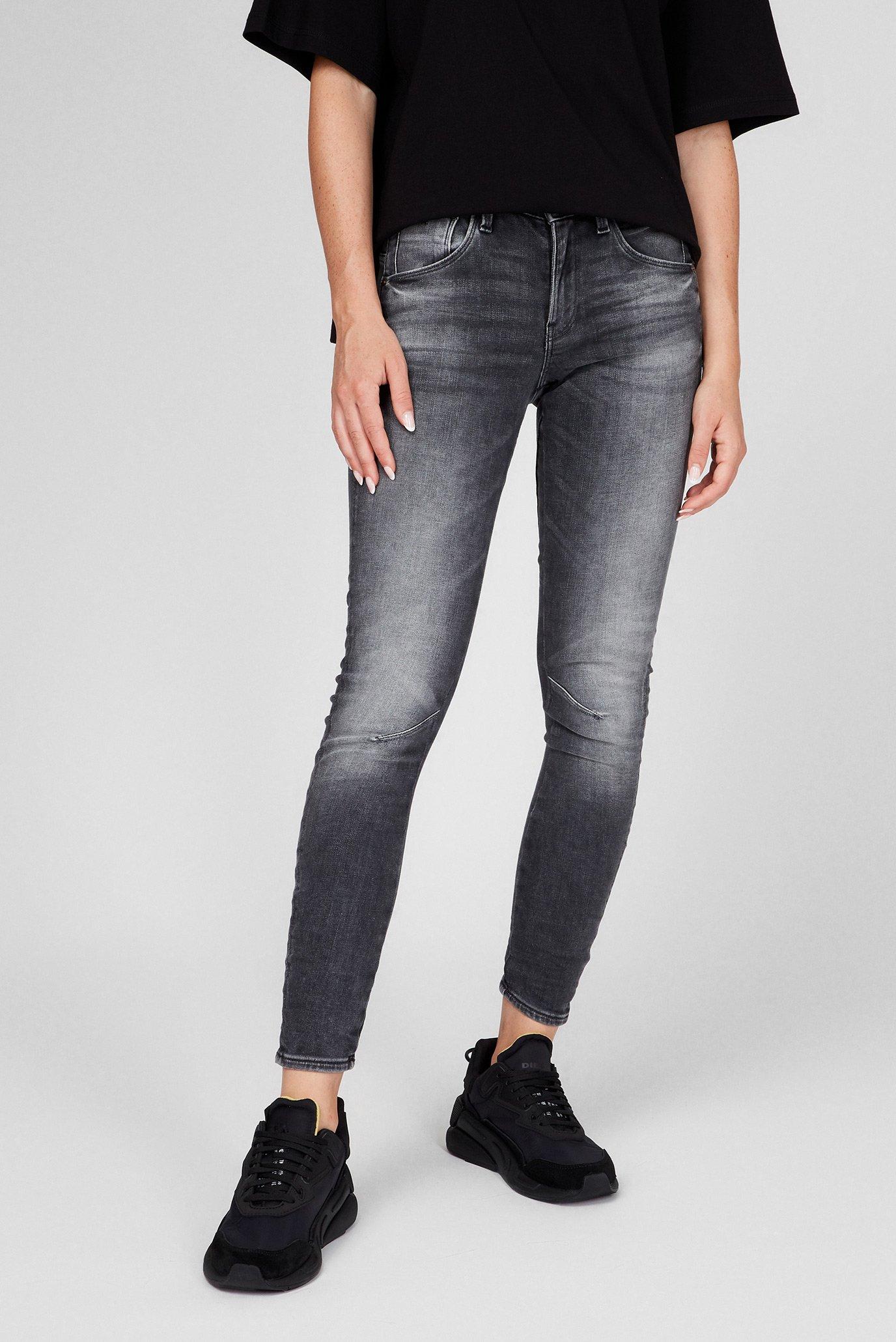 Женские темно-серые джинсы Arc 3D Mid Skinny 1