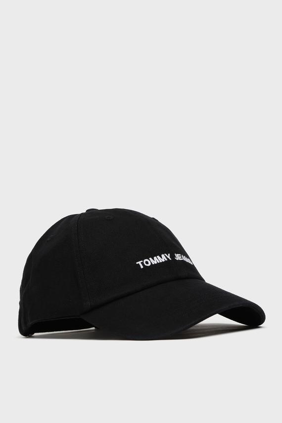 Мужская черная кепка TJM SPORT