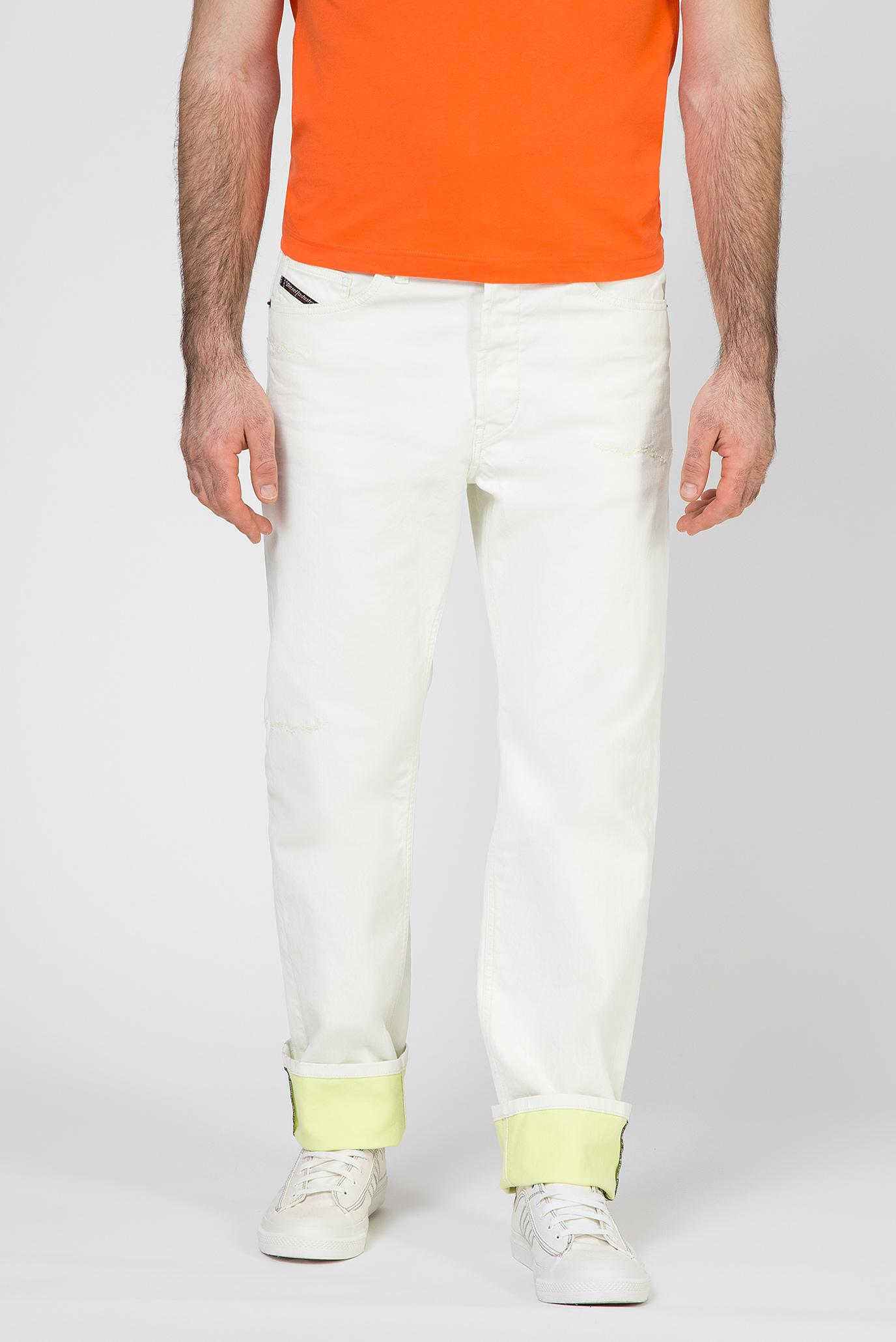 Мужские белые джинсы D-MACS 1