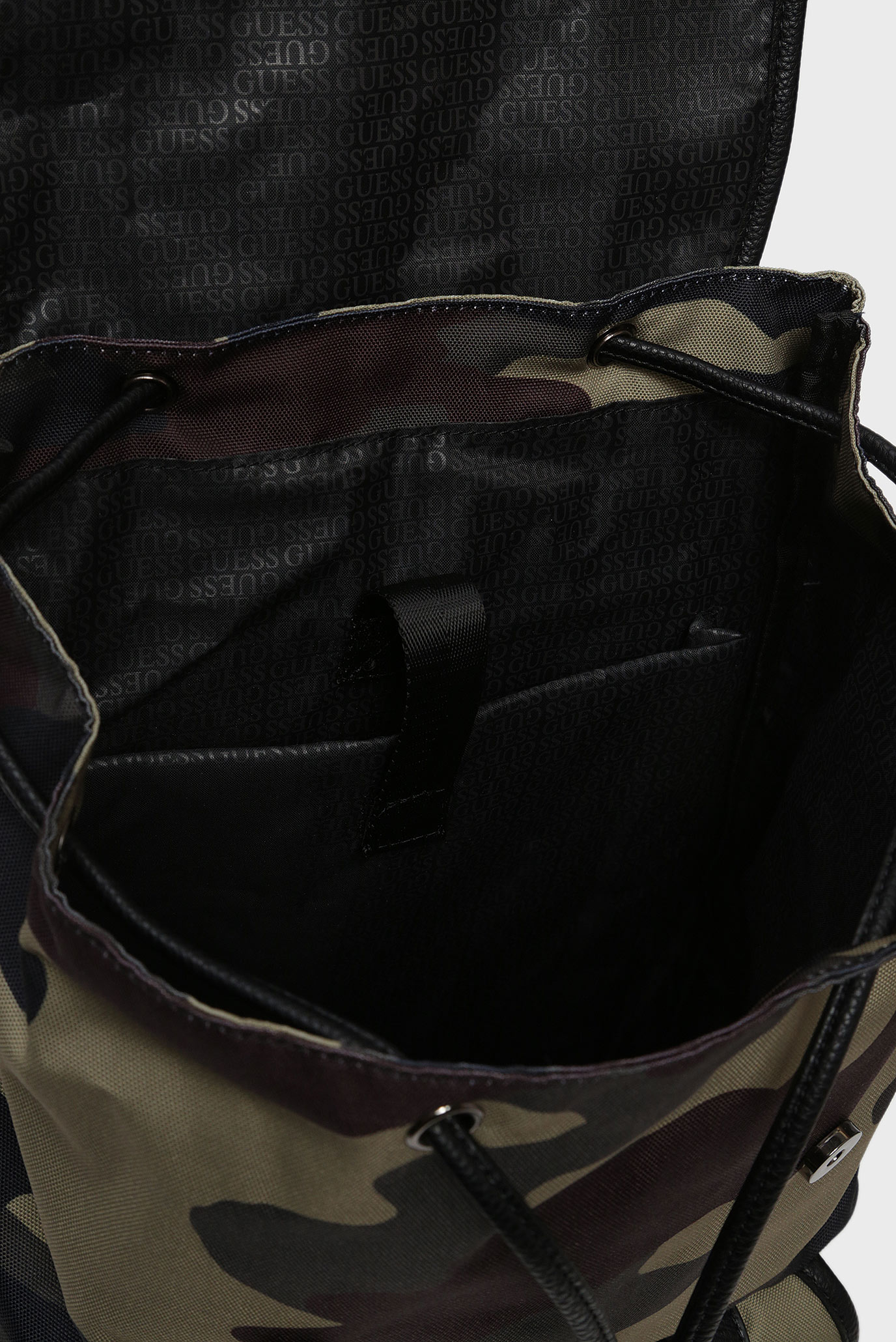 Купить Мужской камуфляжный рюкзак NEW PHIL CAMOU BACKPACK Guess Guess HM6727POL93 – Киев, Украина. Цены в интернет магазине MD Fashion