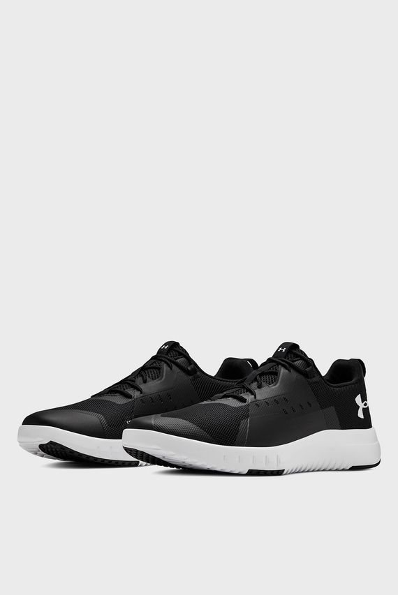 Мужские черные кроссовки UA TR96-BLK