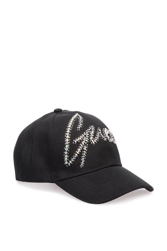 Женская черная кепка