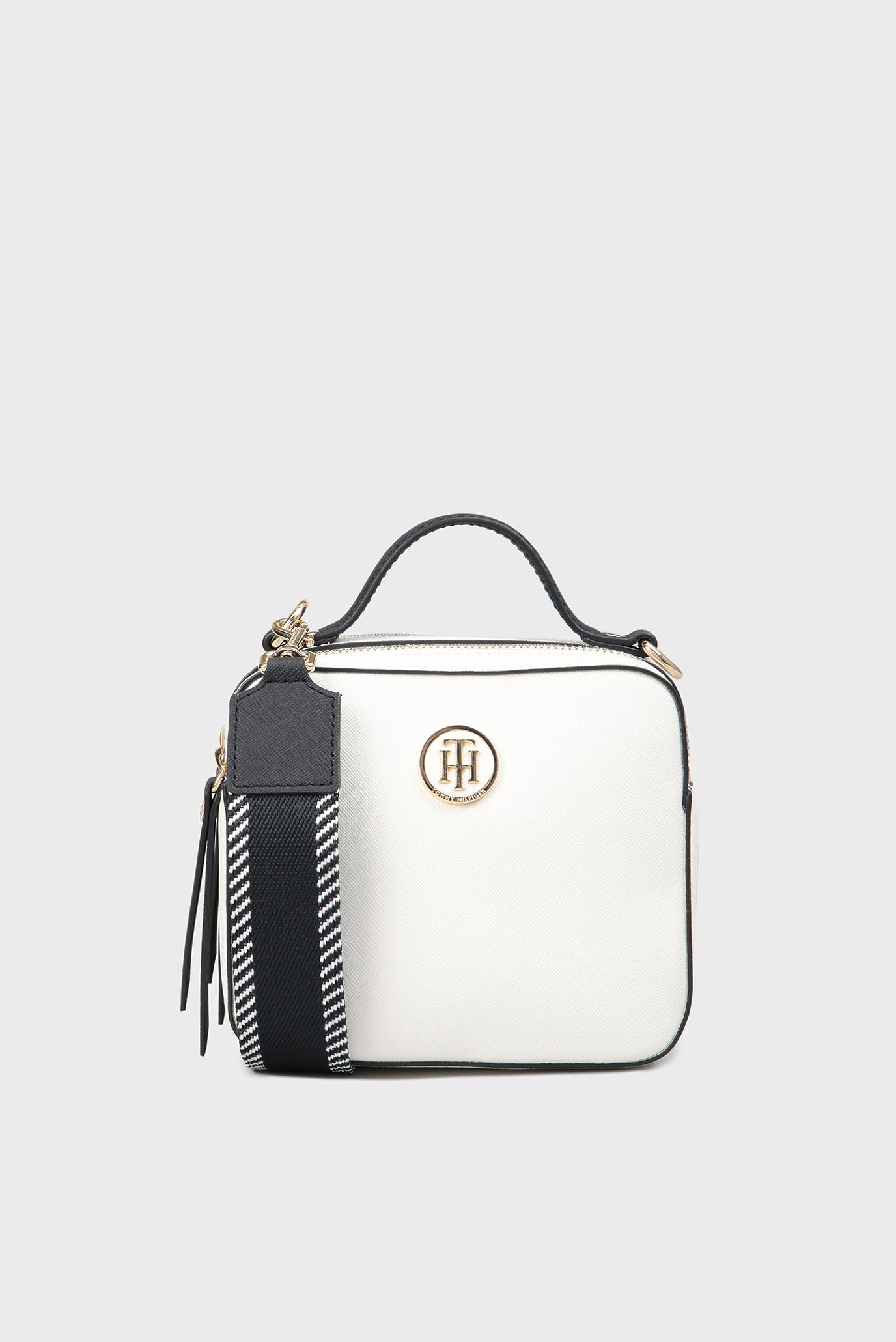 45a29ab29420 Купить Женская белая сумка через плечо Tommy Hilfiger Tommy Hilfiger  AW0AW05289 – Киев, Украина. Цены в интернет ...