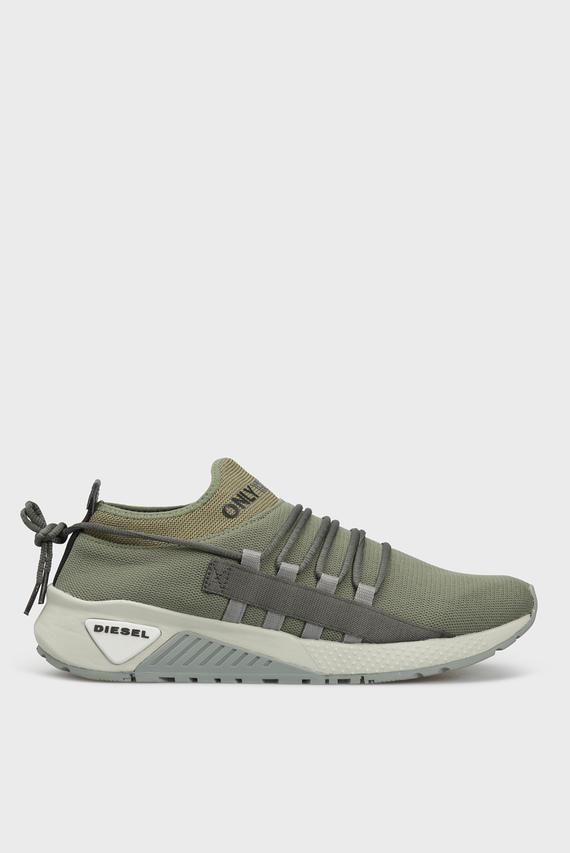 Мужские зеленые кроссовки S-KB SLG