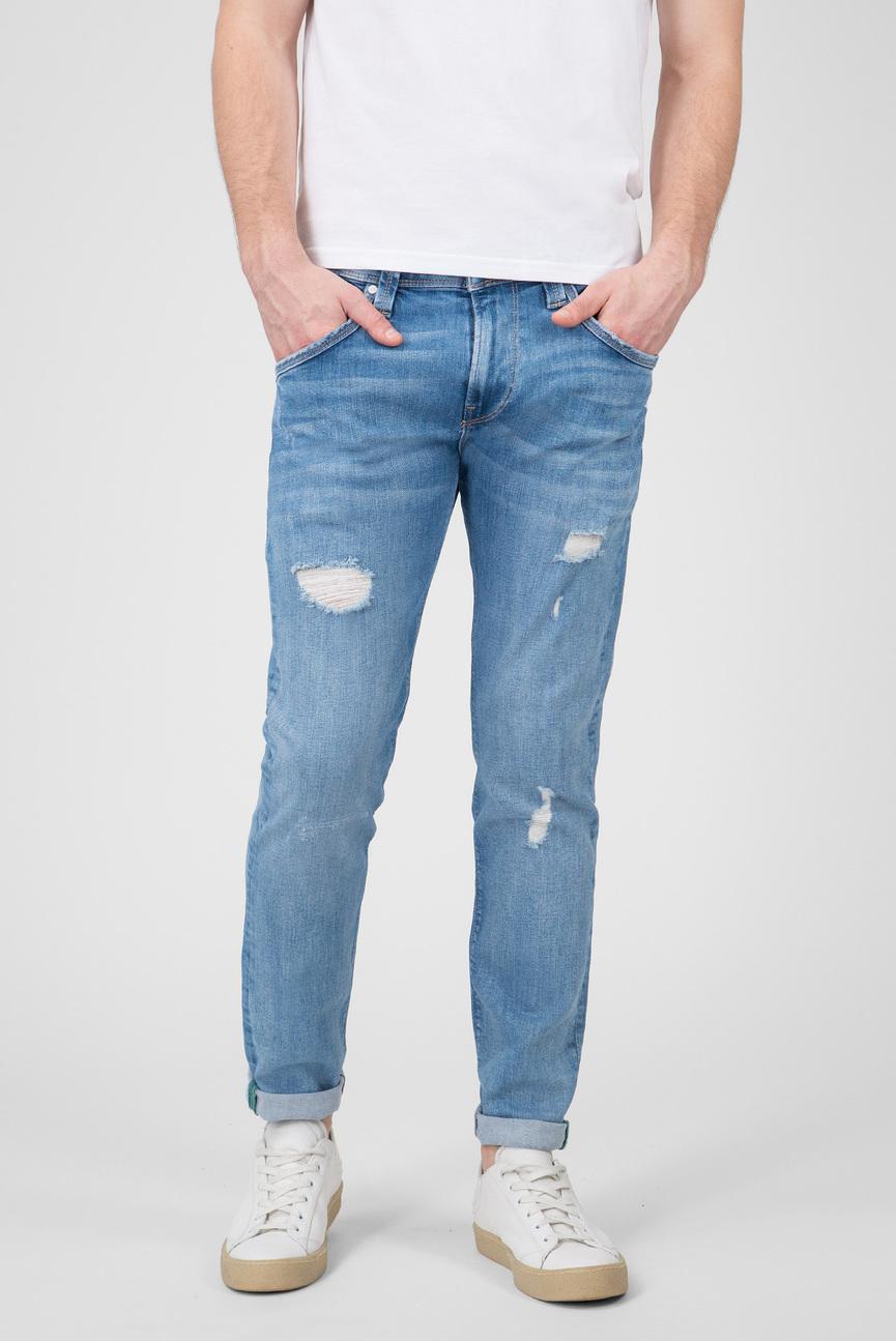 Мужские голубые джинсы Zinc Wiser Wash