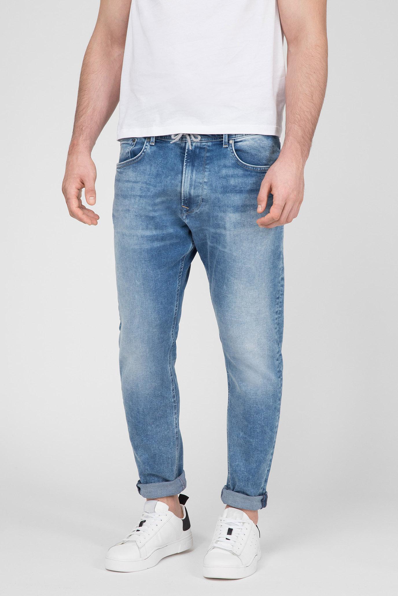 Мужские синие джинсы JOHNSON 1