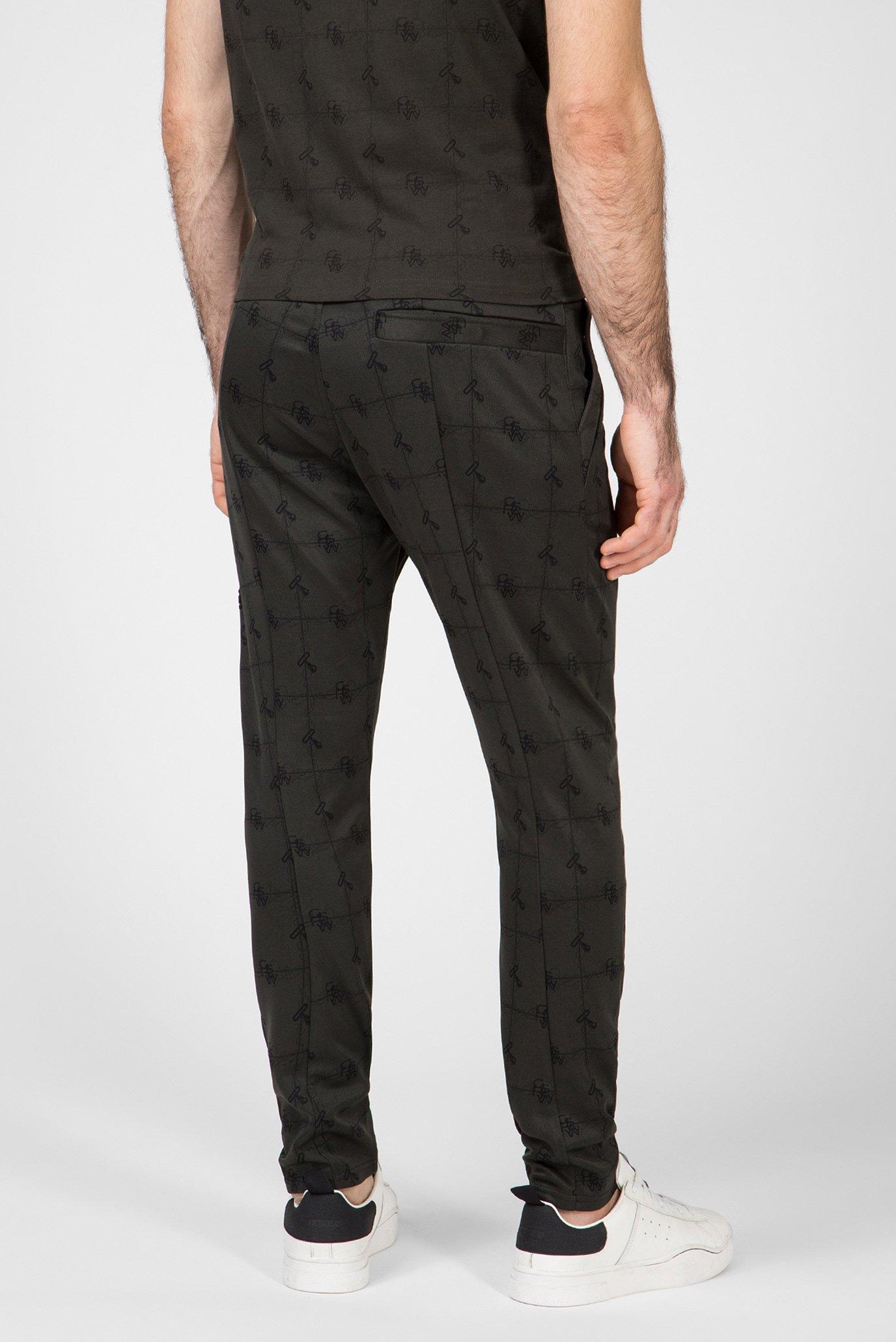 Мужские темно-зеленые спортивные брюки Lanc G-Star RAW