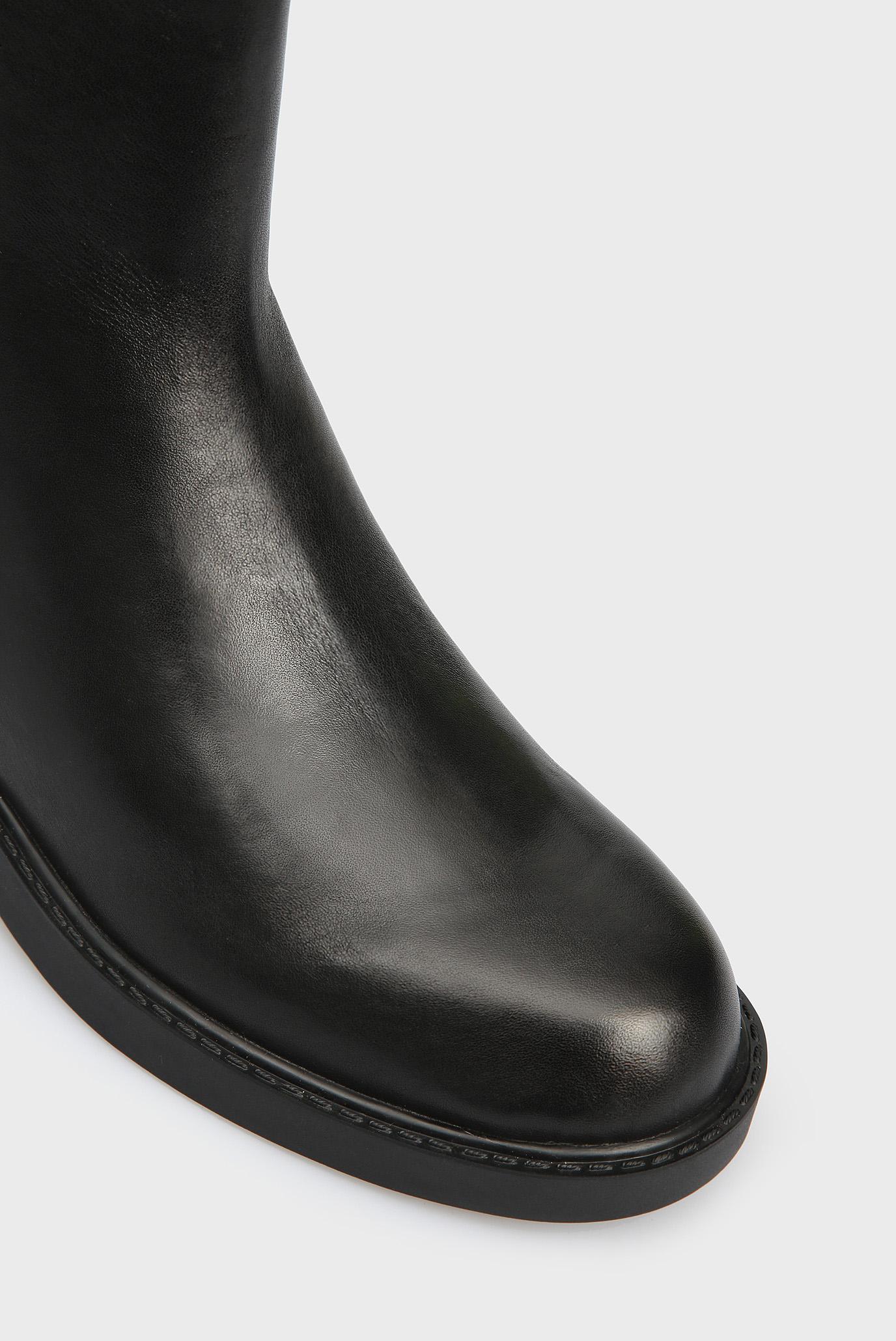 fc741dd0f Купить Женские черные кожаные ботинки YOSHI SHINY Calvin Klein Calvin Klein  E7447 – Киев, Украина. Цены в ...
