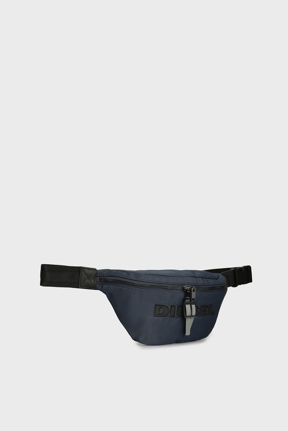 Мужская темно-синяя поясная сумка FELTRE