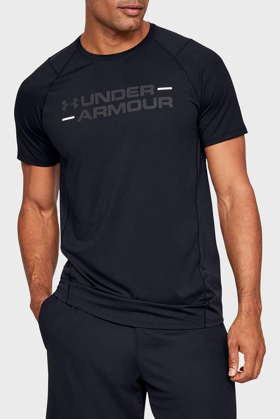 Мужская черная футболка с принтом UA MK1 SS Wordmark