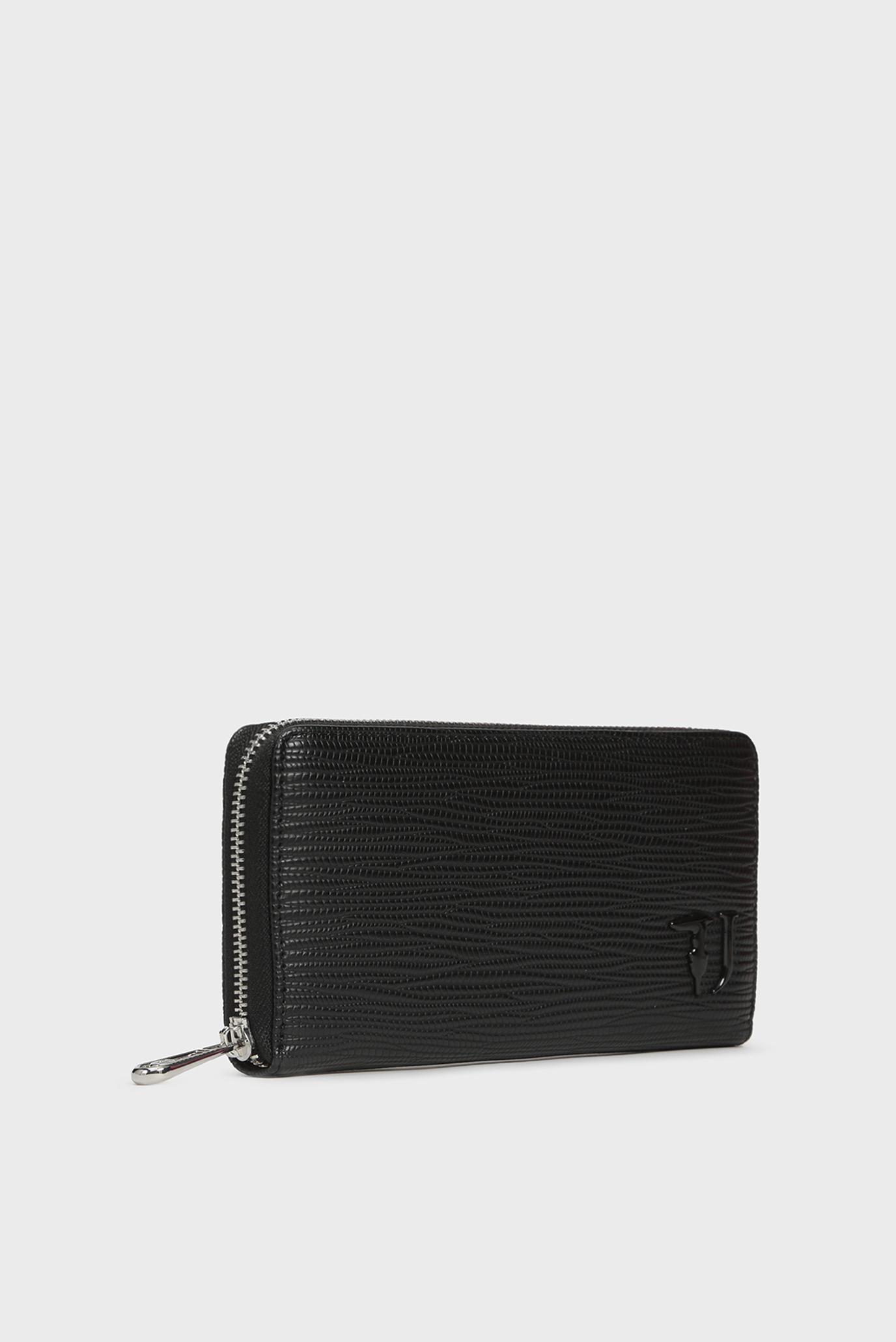 Купить Женский черный кошелек T-EASY CITY ZIP 3PKT LG SAFFIANO Trussardi Jeans Trussardi Jeans 9Y099999/75W00152 – Киев, Украина. Цены в интернет магазине MD Fashion