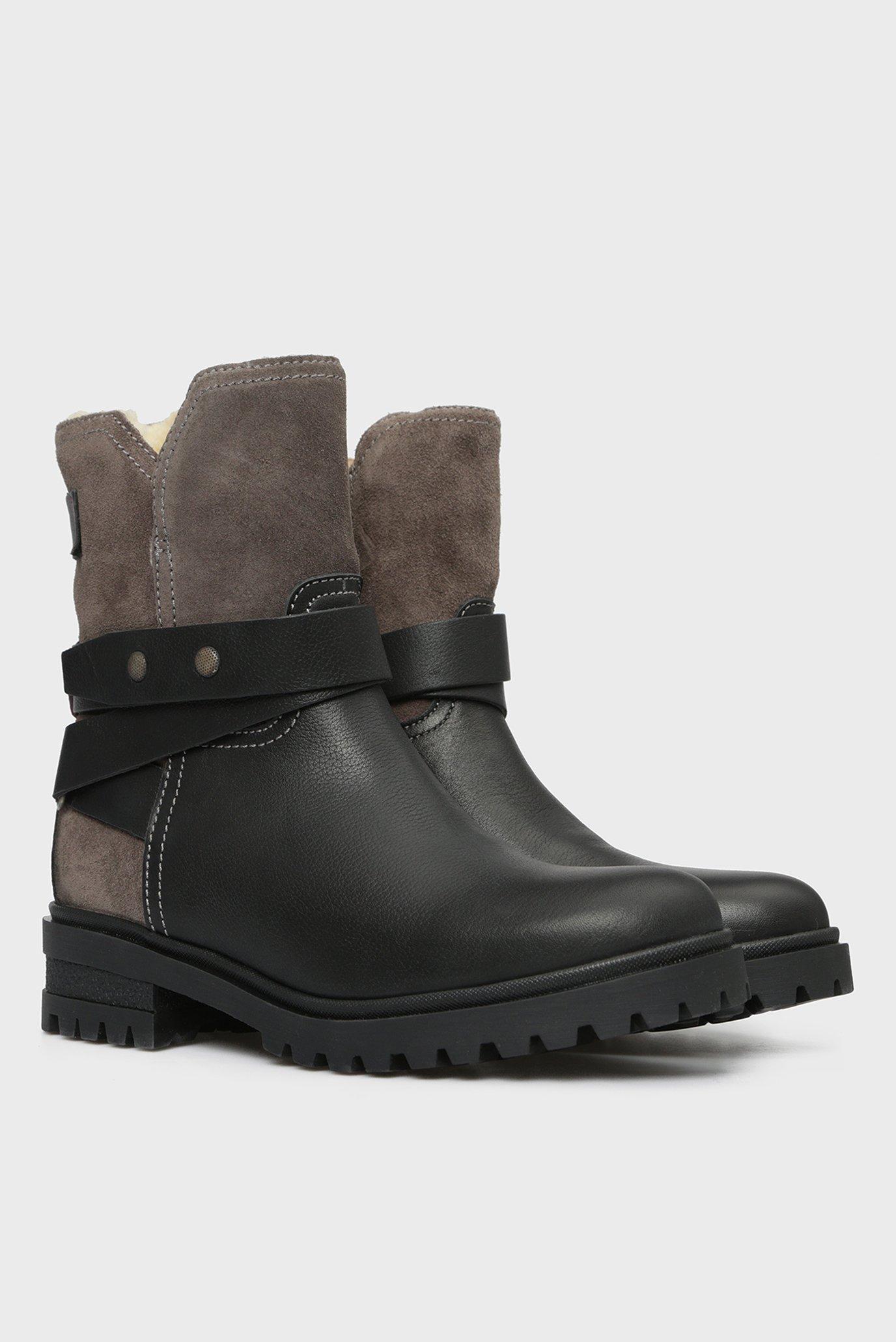 Купить Женские черные ботинки WARM CLEATED BIKER BOOT Tommy Hilfiger Tommy Hilfiger EN0EN00388 – Киев, Украина. Цены в интернет магазине MD Fashion