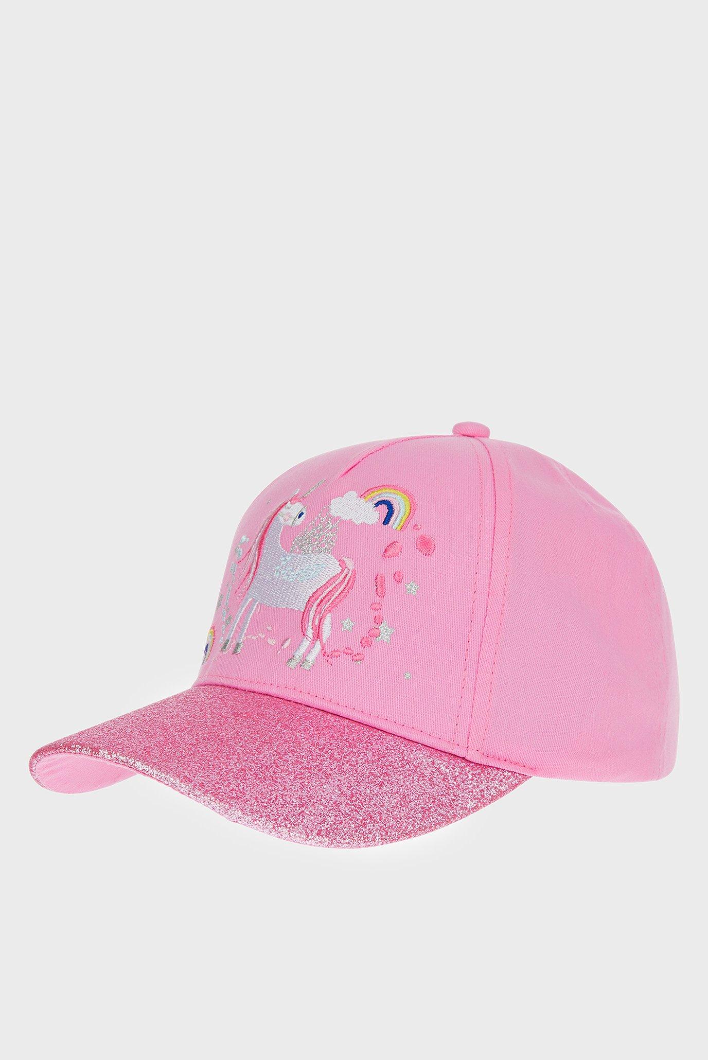 Детская розовая кепка UNICORN Accessorize