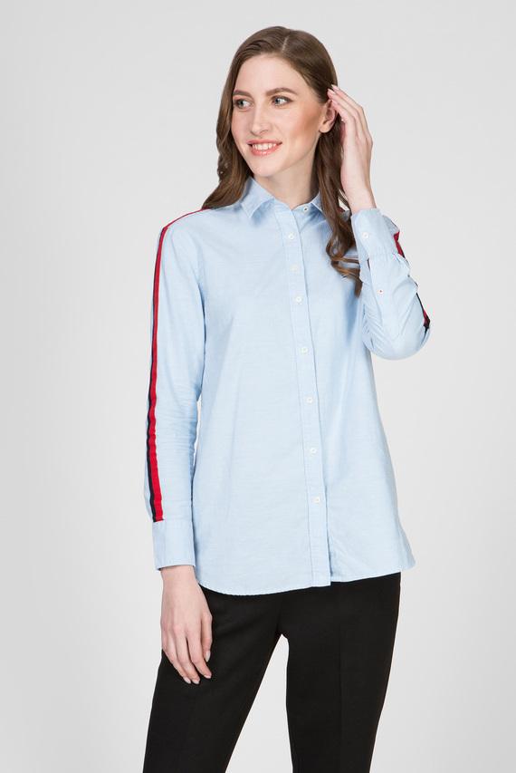 Женская голубая рубашка AMBER