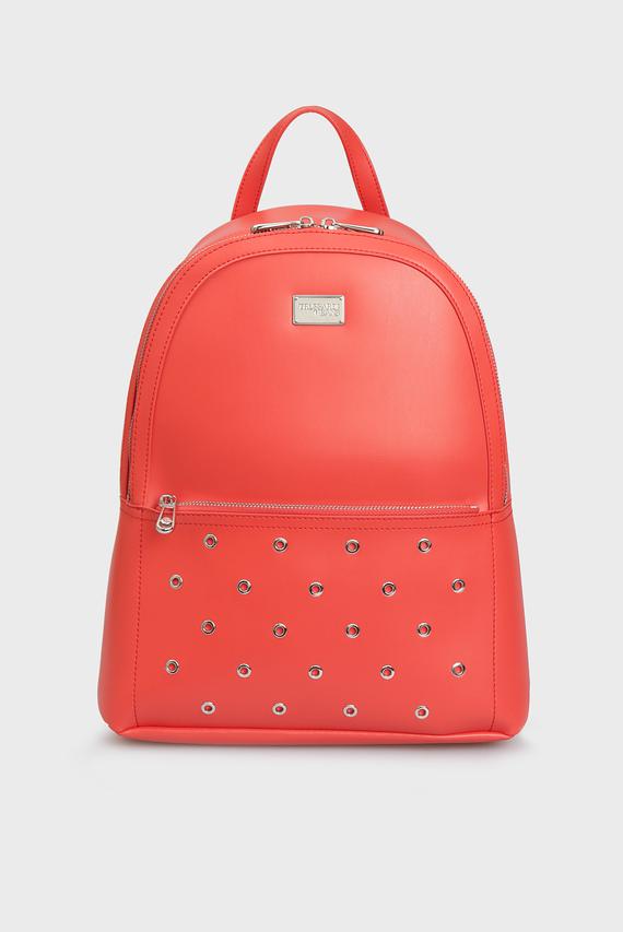 Женский красный рюкзак EMMA