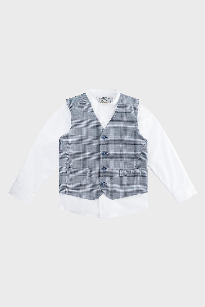 Комплекте детской одежды (рубашка, жилет) Chester Waistcoat