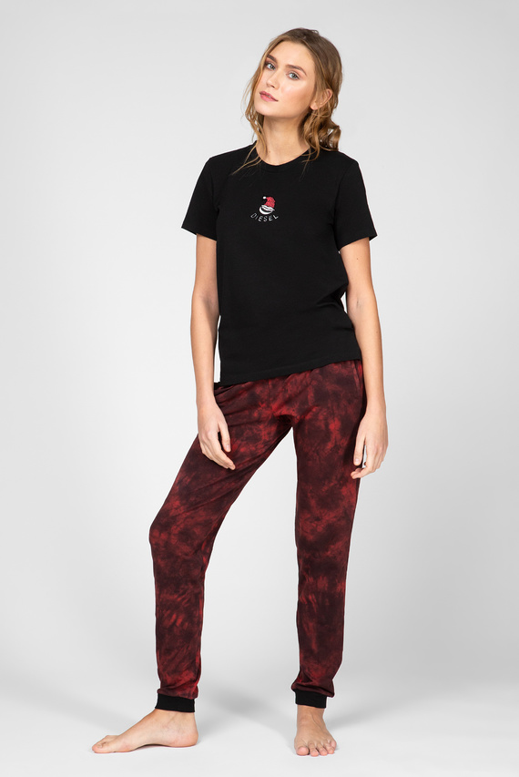 Женская пижама UFSET-SILYBYX (футболка, брюки)