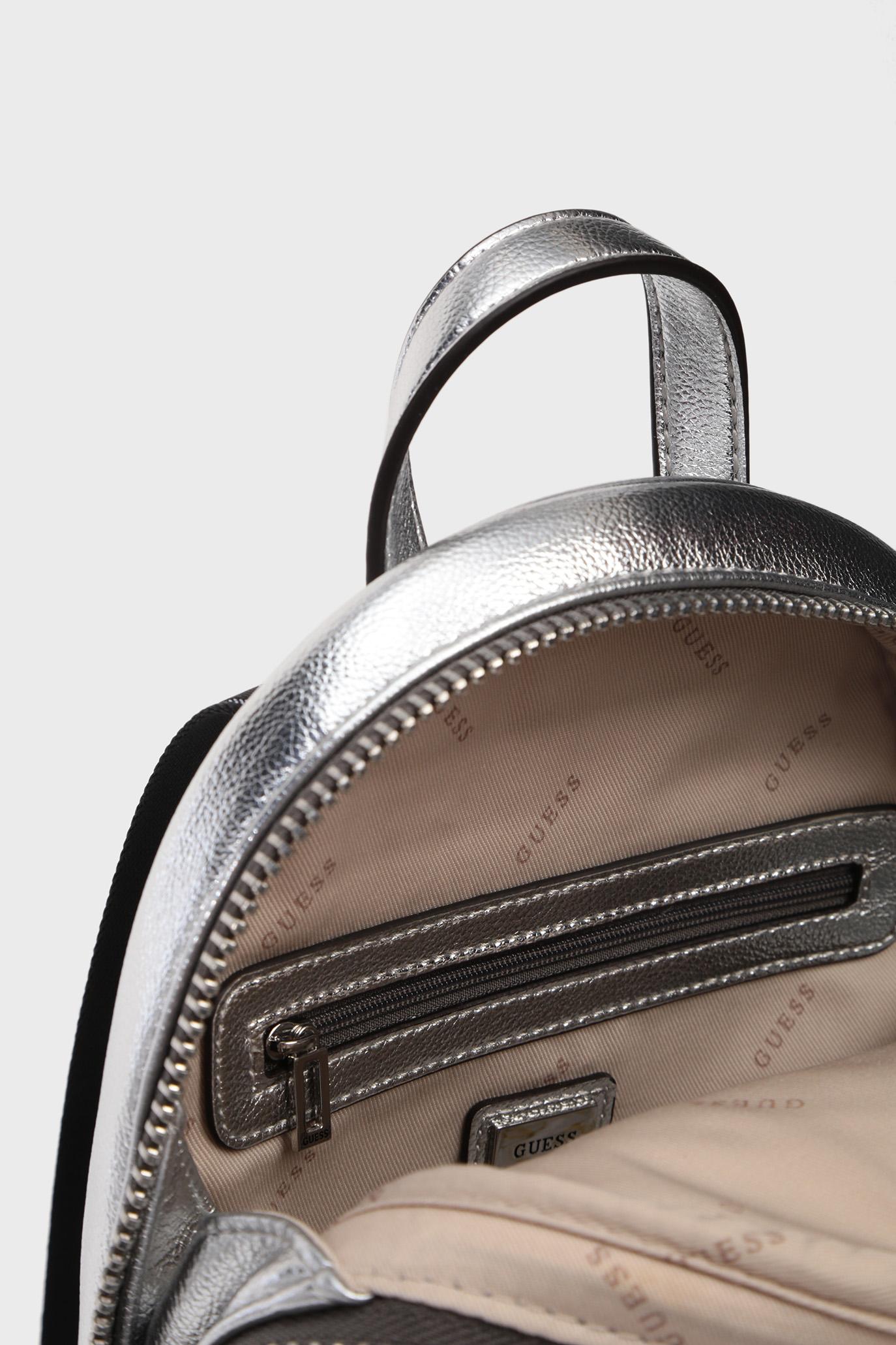 Женский серебристый рюкзак ZANA Guess
