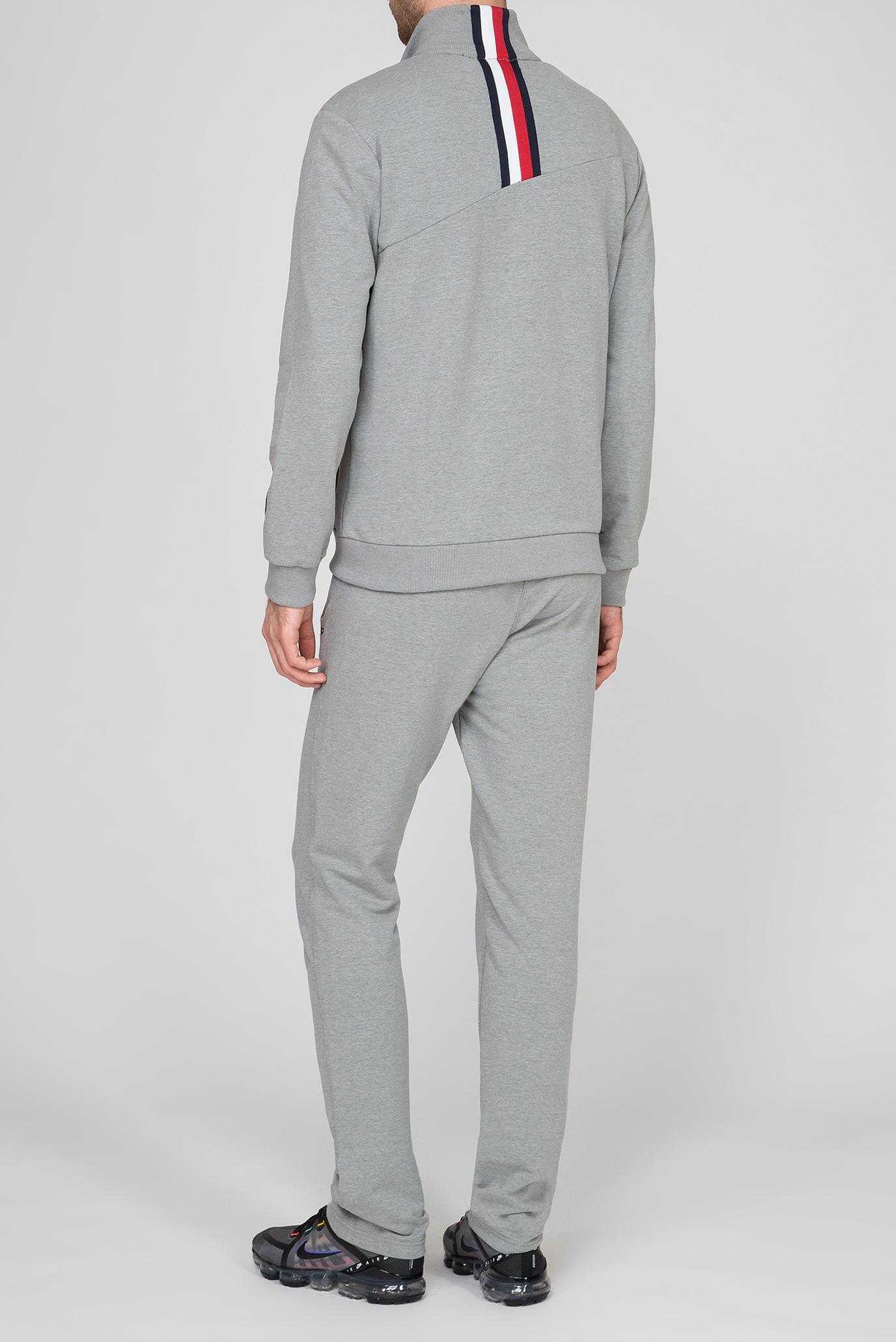 Мужской серый спортивный костюм (кофта, брюки) CMP
