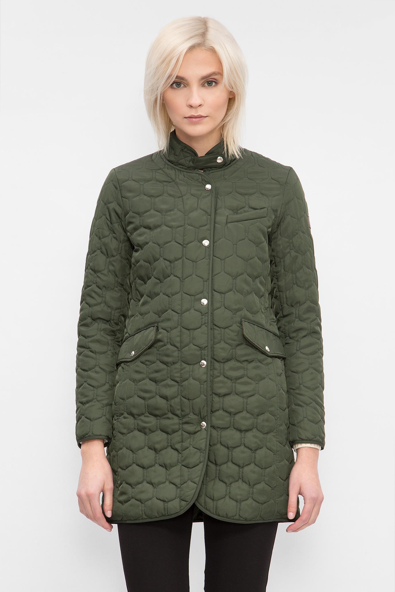 6cabadf06e6 Купить Женское зеленое пальто CLASSIC QUILTED COAT Gant Gant 475718 – Киев